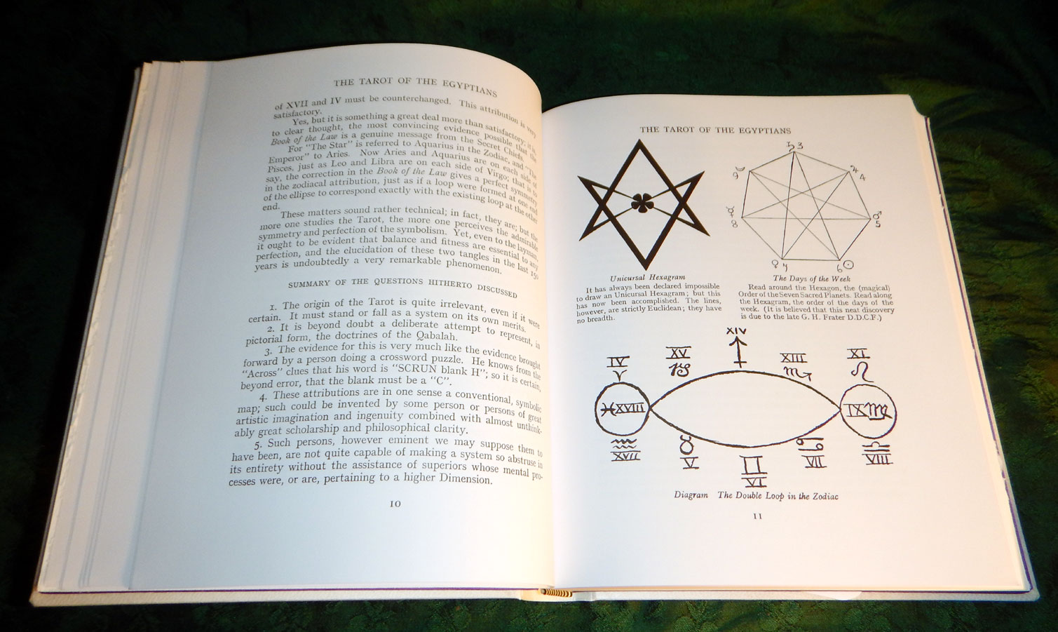 THE BOOK OF THOTH  A Short Essay on the Tarot of the Egyptians, Being The  Equinox Volume III No  V  Special Deluxe Edition by Aleister CROWLEY, THE