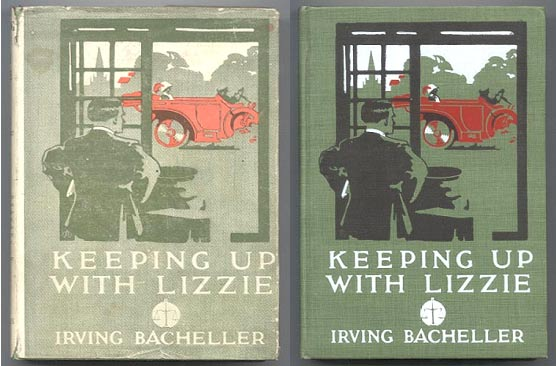 KEEPING UP WITH LIZZIE. Illustrated by W.H.D. Koerner. Irving BACHELLER.