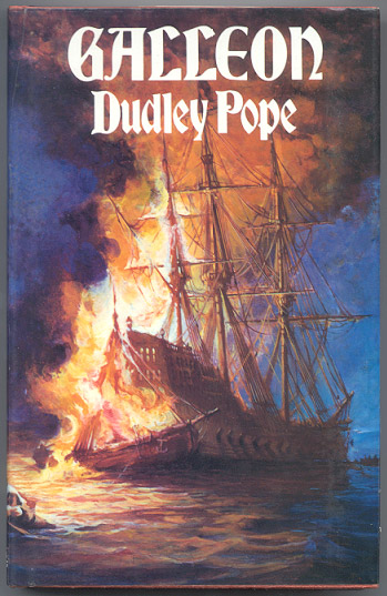 GALLEON. A Novel. Dudley POPE.