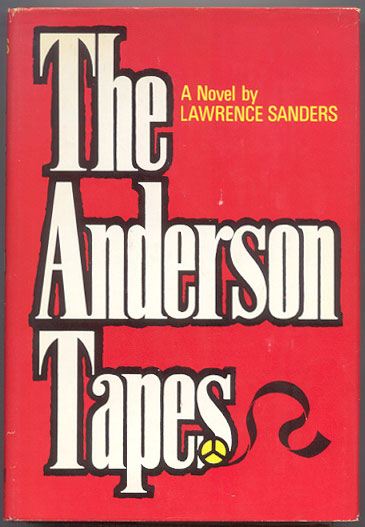 THE ANDERSON TAPES. Lawrence SANDERS.