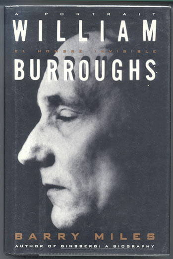 WILLIAM S. BURROUGHS. El Hombre Invisible. William S. MILES BURROUGHS, Barry.