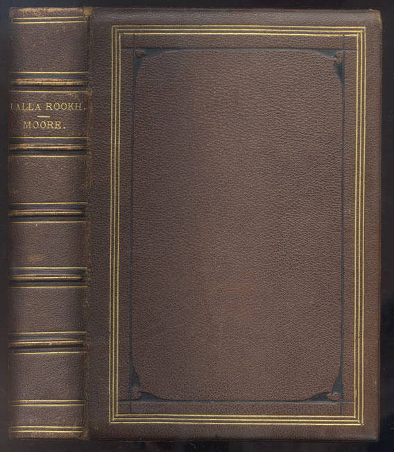 LALLA ROOKH, An Oriental Romance. Illustrated with Engravings from Drawings by Eminent Artists. MOORE. Thomas.