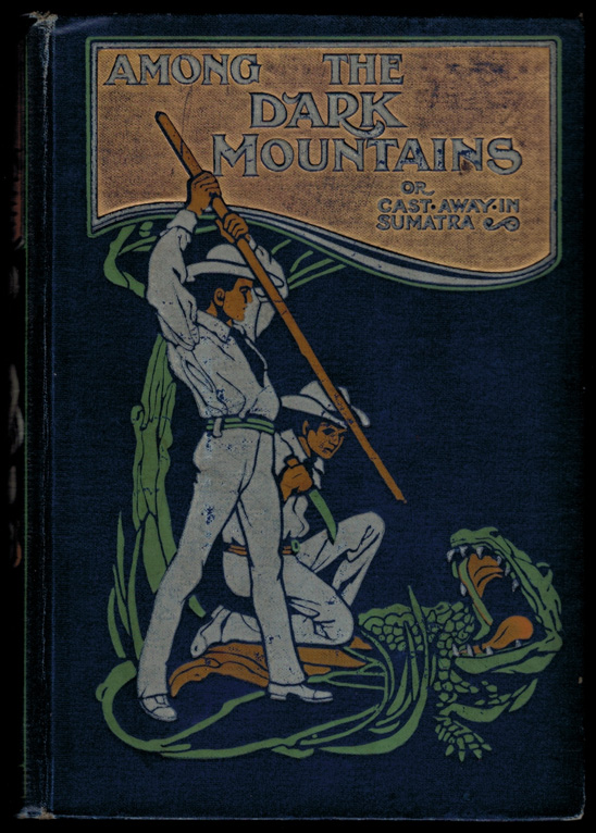 AMONG THE DARK MOUNTAINS; Or, Cast Away in Sumatra. Illustrated by Francis Ewan. David KER.