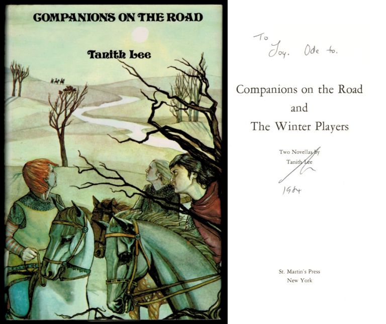 COMPANIONS ON THE ROAD and THE WINTER PLAYERS. Two Novellas. Tanith LEE.