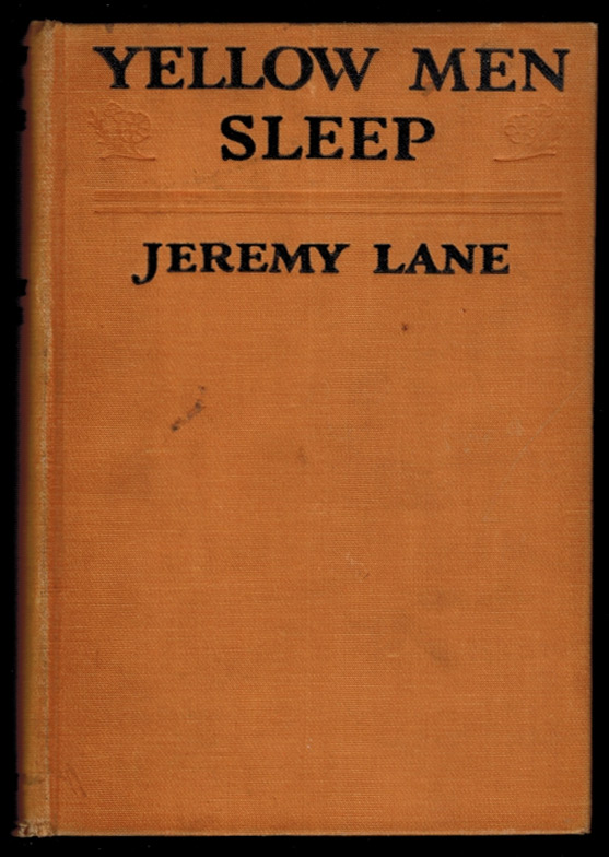 YELLOW MEN SLEEP. Jeremy LANE.