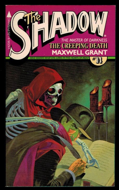 THE CREEPING DEATH. From The Shadow's Private Annals, as told to Maxwell Grant. Pyramid Books Shadow Series No. 14. Maxwell GRANT, Walter B. Gibson.