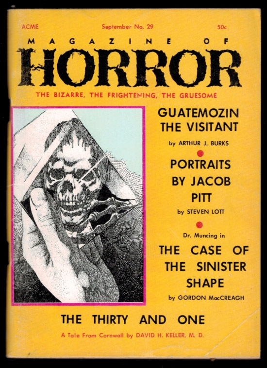 MAGAZINE OF HORROR. Vol 5, No 5, September 1969 issue (Whole Number 29). No 5 MAGAZINE OF HORROR. Vol 5, September 1969 issue, Whole Number 29.