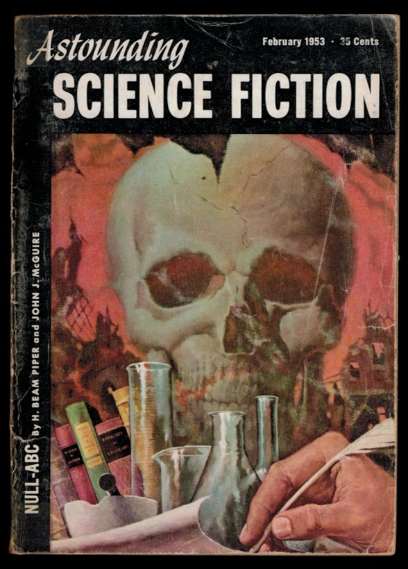 ASTOUNDING SCIENCE FICTION. Vol L, No 3, February, 1953 issue. No 3 ASTOUNDING SCIENCE FICTION. Vol L, 1953 issue, February.