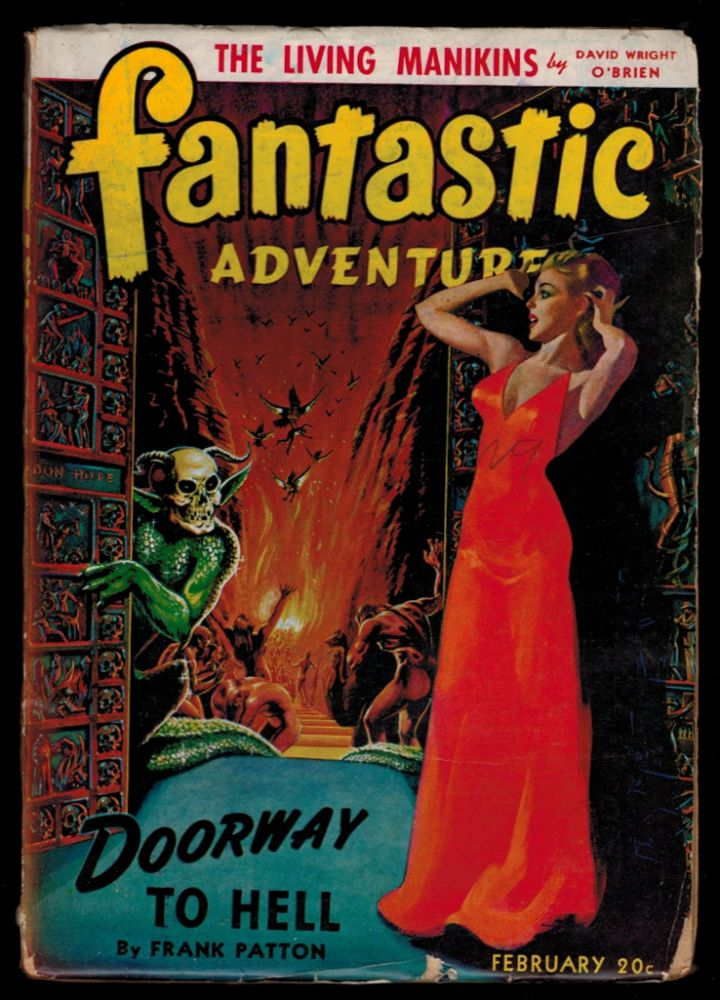FANTASTIC ADVENTURES. Vol 4, No 2, February, 1942 issue. No 2 FANTASTIC ADVENTURES. Vol 4, 1942 issue, February.