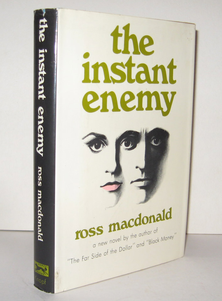 THE INSTANT ENEMY. Ross MacDONALD, Kenneth Millar.