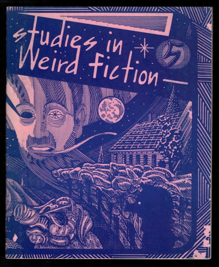 STUDIES IN WEIRD FICTION. Number 5. Edited by S.T. Joshi. Lord. JOSHI DUNSANY, S. T.