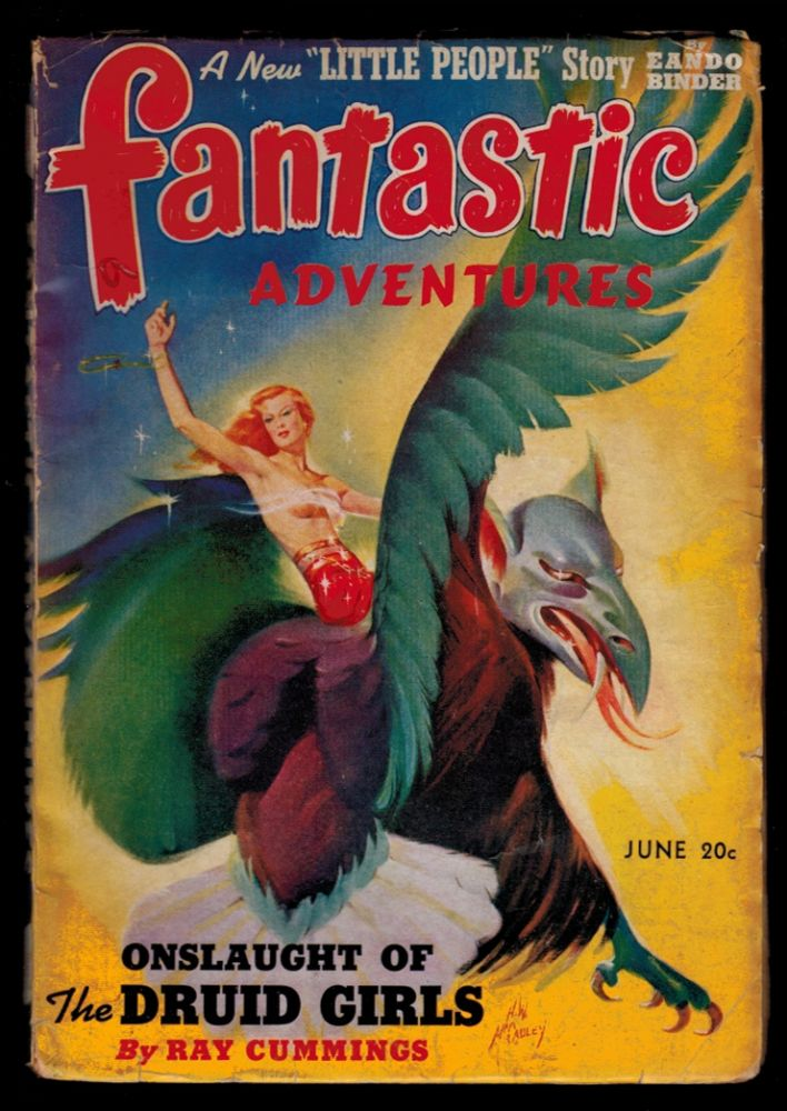 FANTASTIC ADVENTURES Magazine, Vol 4, No , July 1942 issue. Vol 3 FANTASTIC ADVENTURES Magazine, 1941 issue, June, No 4.