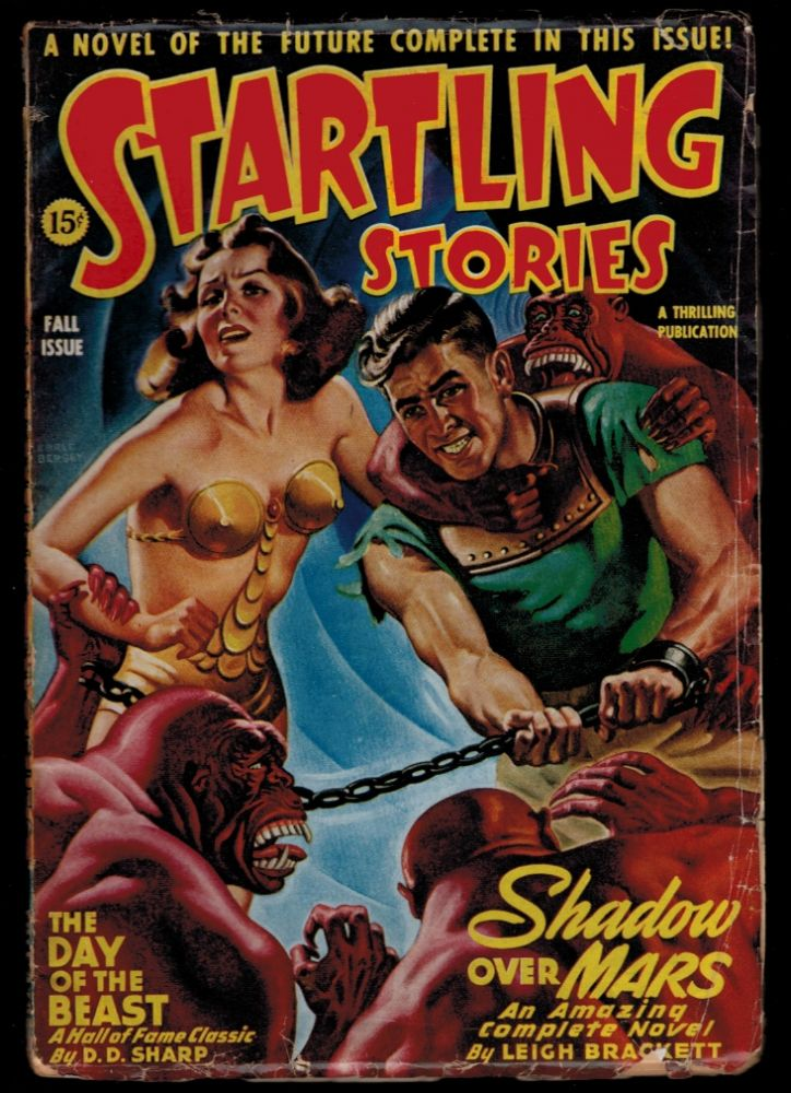 STARTLING STORIES magazine, Vol II, No 2, Fall, 1944 issue. Vol II PULP MAGAZINES STARTLING STORIES magazine, 1944 issue, Fall, No 2.