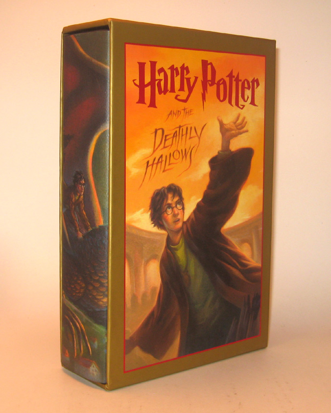 HARRY POTTER AND THE DEATHLY HALLOWS. Illustrations by Mary Grandpré. First Printing of the Deluxe American Edition. J. K. ROWLING.