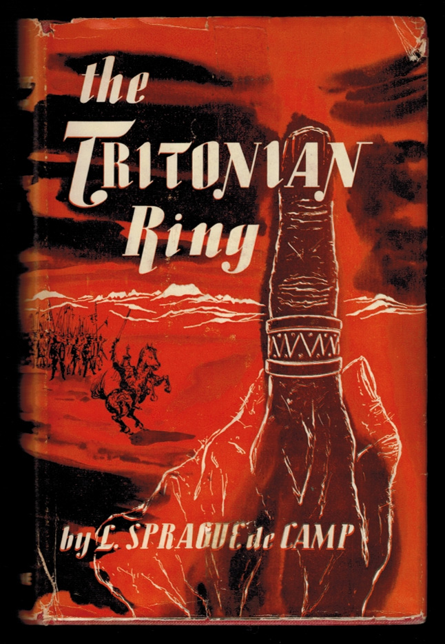 THE TRITONIAN RING and Other Pusadian Tales. L. Sprague DE CAMP.