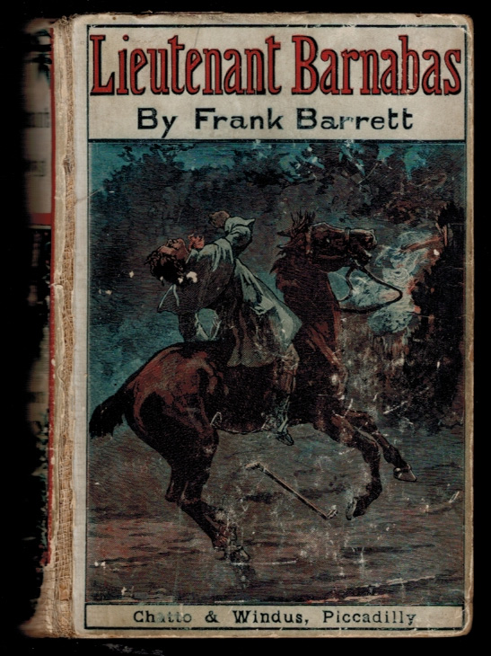 LIEUTENANT BARNABAS. [Yellowback edition]. Frank BARRETT.