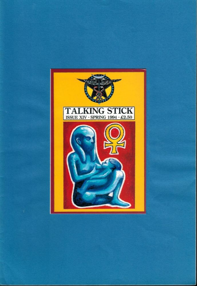 TALKING STICK. Issue XIV, Spring 1994. Spring 1994 Talking Stick Journal. Issue XIV.