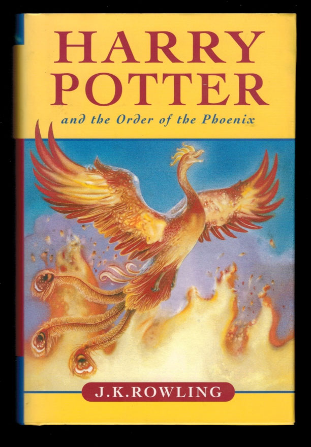HARRY POTTER AND THE ORDER OF THE PHOENIX. First Canadian Edition. ROWLING. J. K.