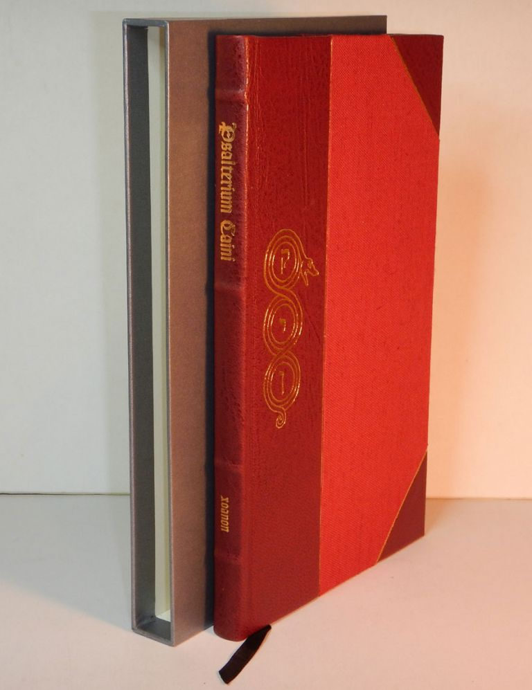 THE PSALTER OF CAIN. Deluxe Issue in Three-Quarter Crimson Leather. being the joint authorship of Andrew D. CHUMBLEY CULTUS SABBATI, Robert FITZGERALD, Daniel A. SCHULKE.