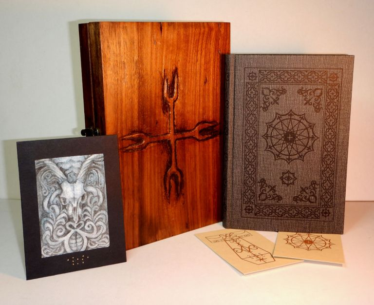THE BARON CITADEL: The Book of the Four Ways. With Illustrations by Carolyn Hamilton-Giles. Special Reserve Edition, One of 13 copies in a Hand-Carved Reliquary Box, A Unique Variant Copy. Peter HAMILTON-GILES.