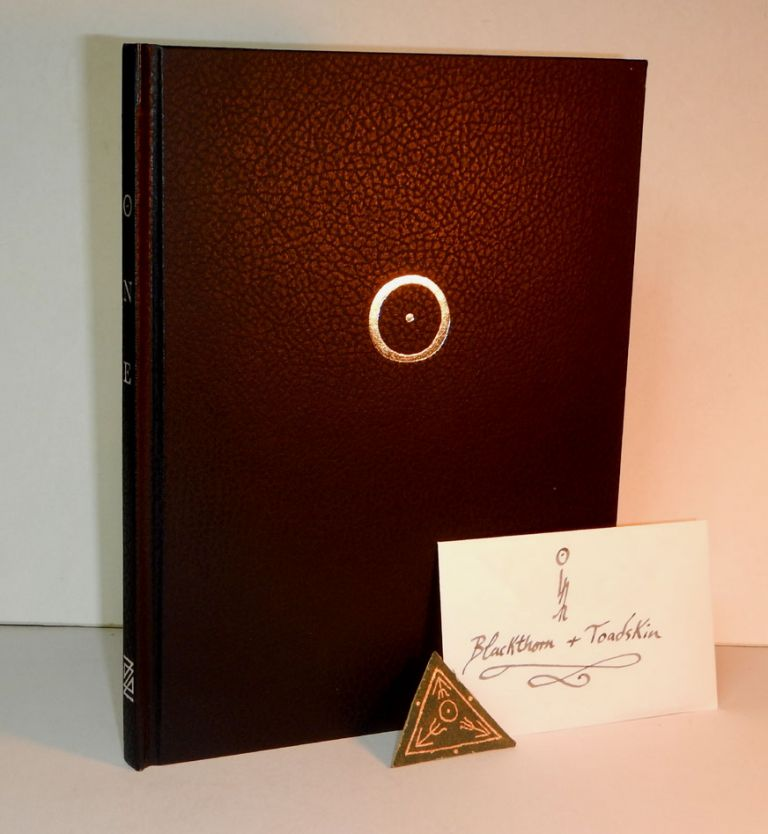 """ONE. THE GRIMOIRE OF THE GOLDEN TOAD. A Mystery-Text Serving to Reveal the Arcana of Sabatraxas, Being An Exposition of the Antient Wicce-craft Initiation into the Mysteries of Toadmanship, known to the wise as """"The Waters of the Moon"""". Here Transcribed by A .:. For All who seek the Way of the Lonely Road. Andrew D. CHUMBLEY."""