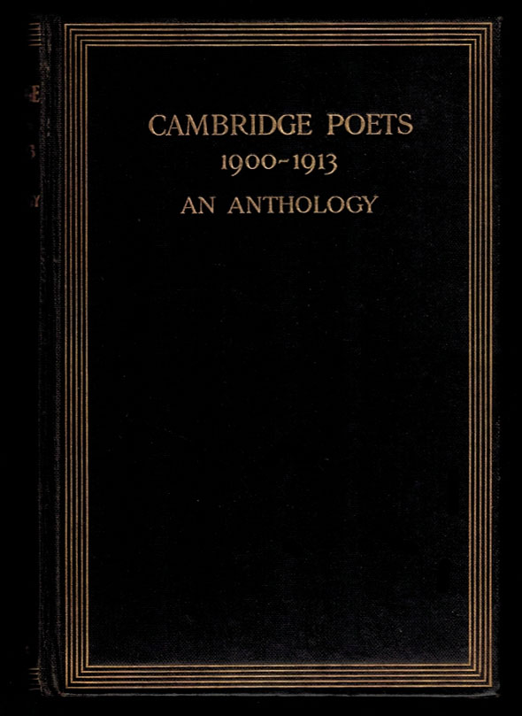 TEN POEMS, VARIOUSLY TITLED [in] CAMBRIDGE POETS 1900 - 1913. An Anthology. Chosen by Aelfrida Tillyard. Aleister. TILLYARD CROWLEY, Aelfrida.