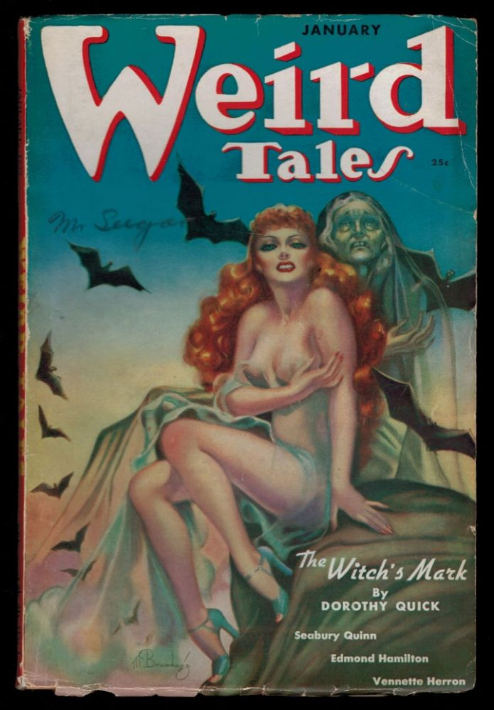 WEIRD TALES Magazine. Vol. 31, No 1 - January 1938 issue. No 1 - January 1938 issue WEIRD TALES Magazine. Vol. 31.
