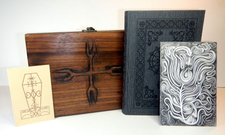 THE BARON CITADEL: The Book of the Four Ways. With Illustrations by Carolyn Hamilton-Giles. Special Reserve Edition, One of 13 copies in a Hand-Carved Reliquary Box, Peter HAMILTON-GILES.