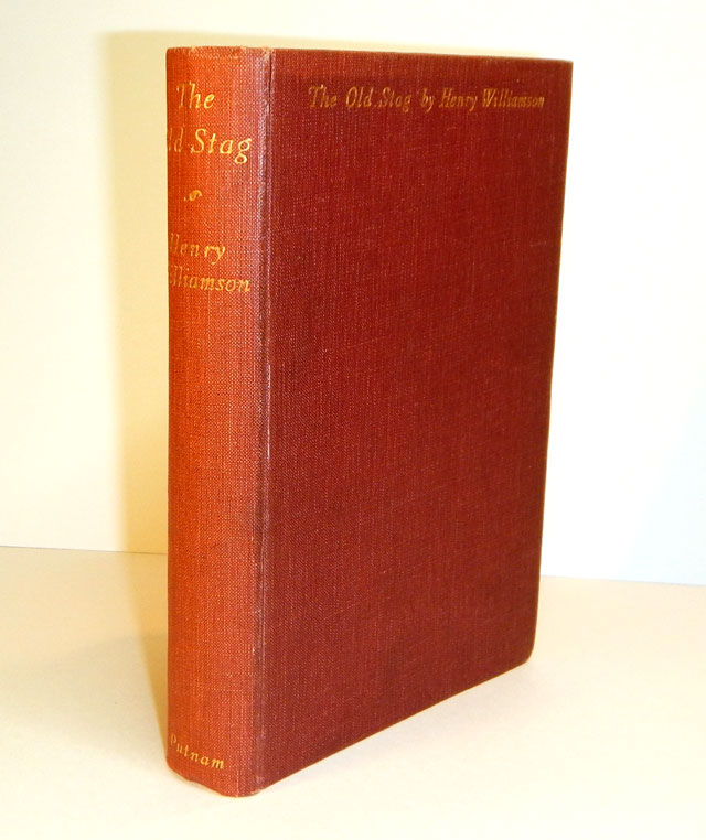 THE OLD STAG. Stories. Henry WILLIAMSON.