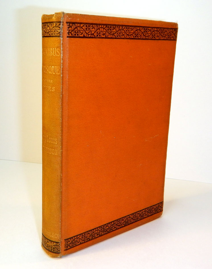 VIRGINIBUS PERISQUE And Other Papers. Robert Louis STEVENSON.
