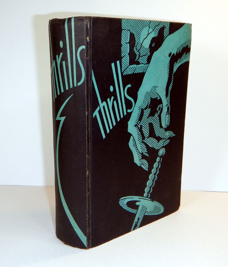 A CASE FOR DEDUCTION by M.P. Shiel and Fytton Armstrong [in] THRILLS: TWENTY SPECIALLY SELECTED NEW STORIES OF CRIME, MYSTERY AND HORROR. The Editor's Copy. M. P. SHIEL, Fytton ARMSTRONG, Matthew Phipps, John Gawsworth.