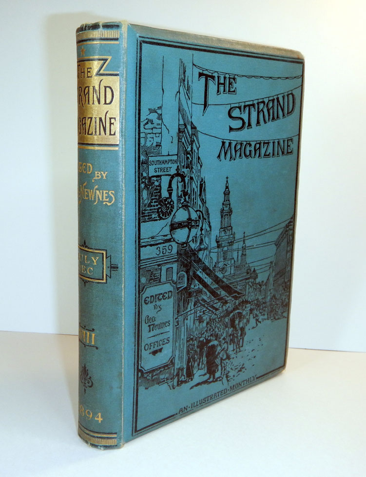 THE EAGLE'S CRAG [in] THE STRAND MAGAZINE, Vol. VIII, July to December 1894. M. P. SHIEL, Matthew Phipps.