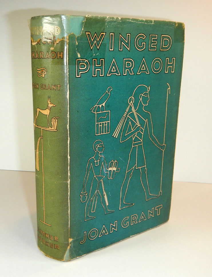 WINGED PHAROAH. First Edition, Inscribed to Ronald Fraser. Joan GRANT.
