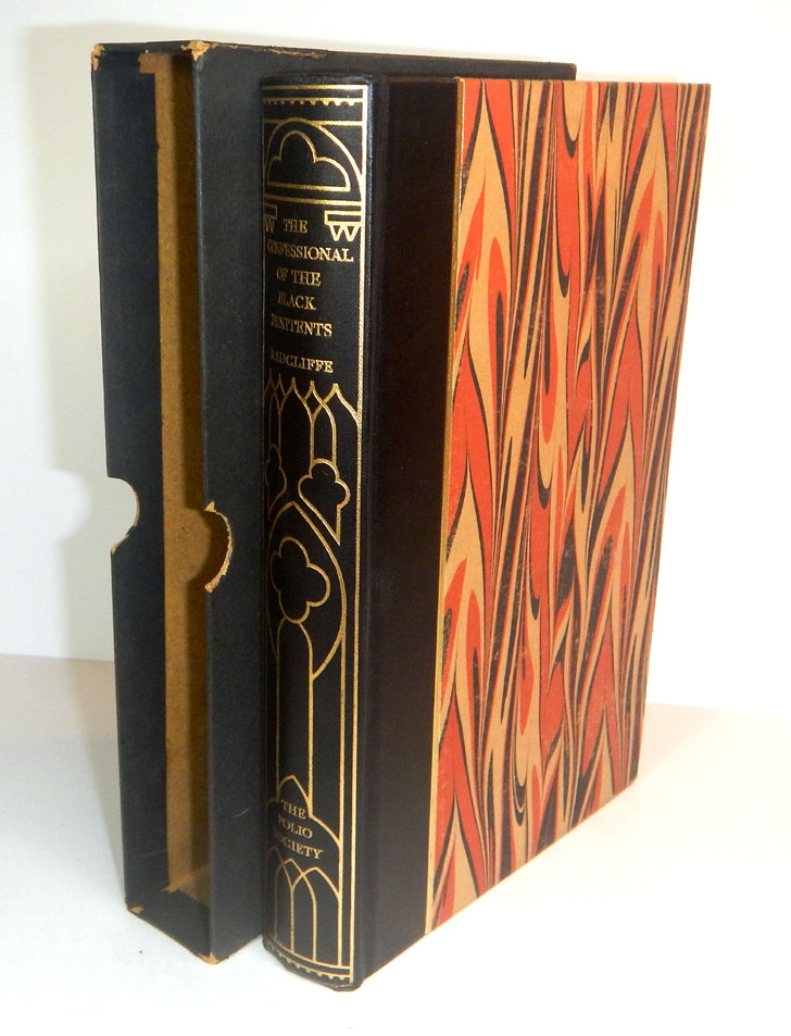 THE CONFESSIONAL OF THE BLACK PENITENTS By Ann Radcliffe. Wood Engravings by Philip Ross. Ann RADCLIFFE.