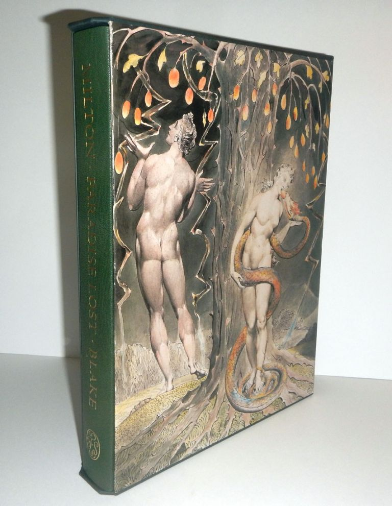 PARADISE LOST. A POEM IN TWELVE BOOKS. With a Preface by Peter Ackroyd, An Introduction by John Wain, and Illustrations by William Blake. John MILTON, William Blake Illustrations.