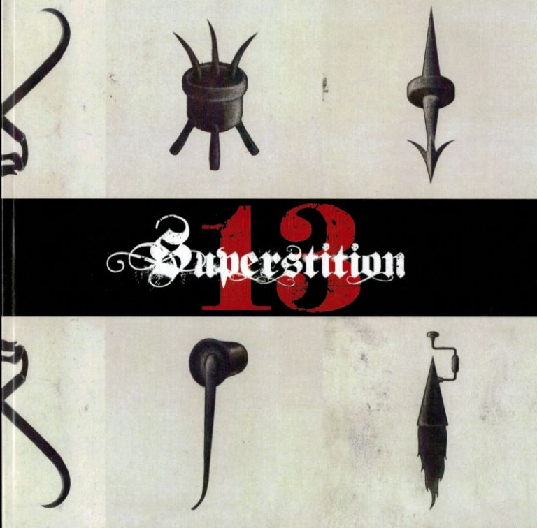 SUPERSTITION XIII: Book Arts From The Shadow World. [Xoanon, Three Hands Press, Ouroboros Press Interest]. EPHEMERA, Three Hands Press Xoanon, Ouroboros Press Interest.