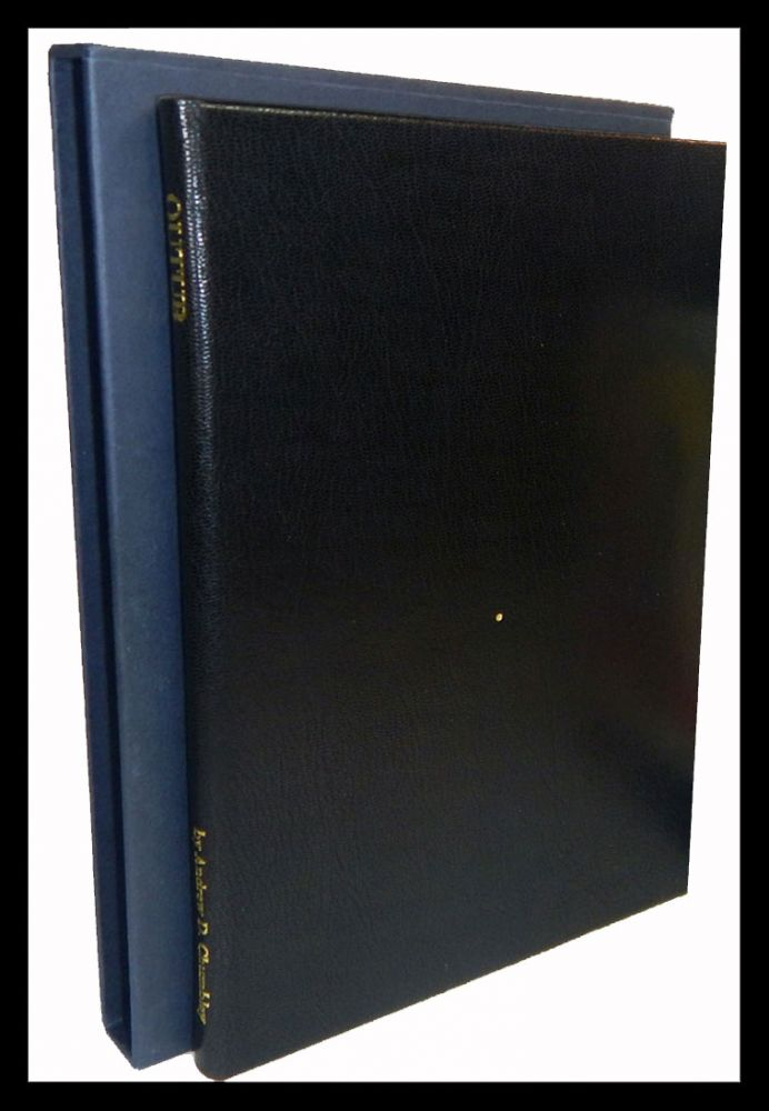 QUTUB. Also Called The Point. Written and Illustrated by Andrew D. Chumbley. Alogos Dhu'l-Qarnen. First Edition, Copy No. 1 of the Special Reserve Issue. Andrew D. CHUMBLEY.