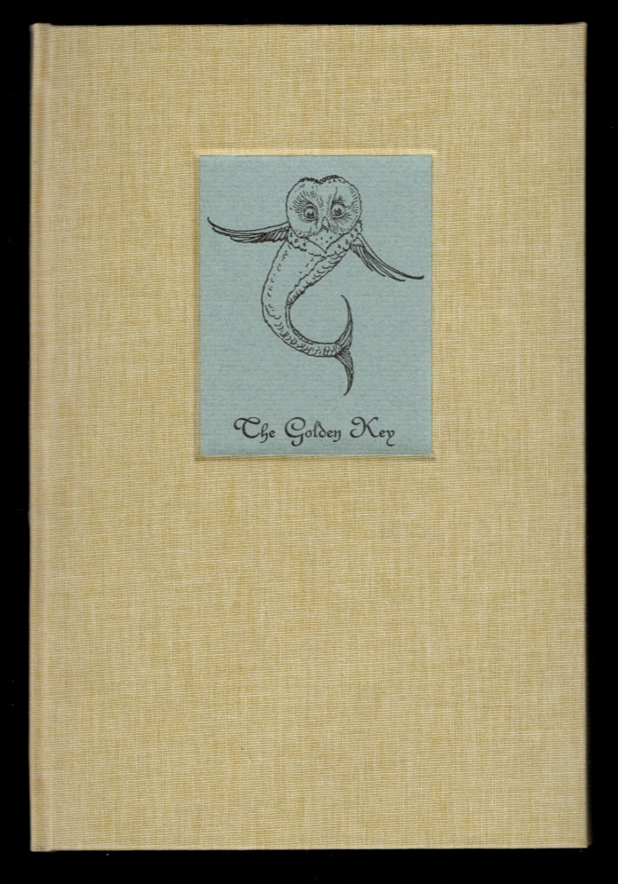 THE GOLDEN KEY. Written by George MacDonald, with illustrations by Charles van Sandwyk. George. VAN SANDWYK MACDONALD, Charles.