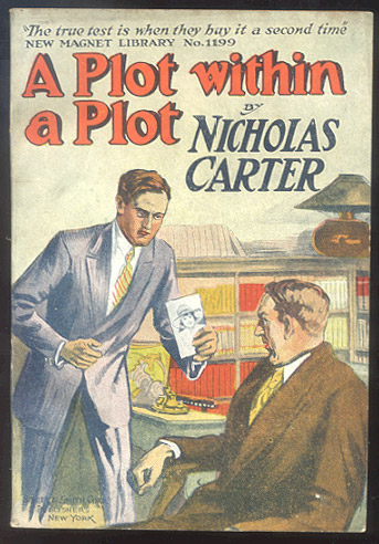 A PLOT WITHIN A PLOT; Or, A Tangled Case. Nicholas CARTER.