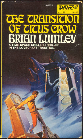 THE TRANSITION OF TITUS CROW. Brian LUMLEY.