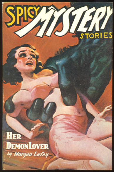 SPICY MYSTERY STORIES. Odyssey Publications reprint. Robert Leslie SPICY MYSTERY STORIES. BELLEM, E. Hoffmann PRICE, others.
