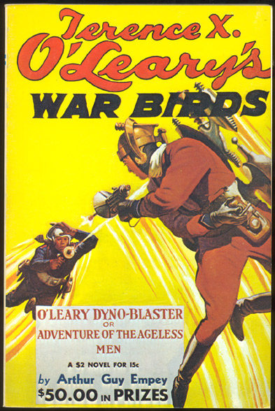 TERRENCE X. O'LEARY'S WAR BIRDS. April 1935 issue. Odyssey Publications reprint. TERRENCE X. O'LEARY'S WAR BIRDS. April 1935 issue.