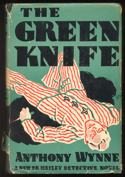 THE GREEN KNIFE. Athony WYNNE.