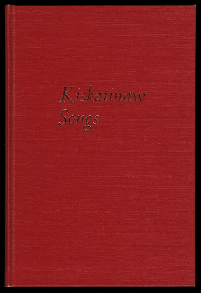 KISKATINAW SONGS. With Drawings by Douglas Tait. Susan MUSGRAVE, Sean Virgo.