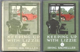 KEEPING UP WITH LIZZIE. Illustrated by W.H.D. Koerner.