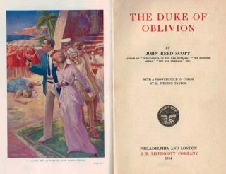THE DUKE OF OBLIVION. With a Frontispiece in Color by H. Weston Taylor.
