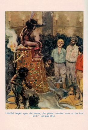 THE SECRET OF THE SHINING MOUNTAIN. With Four Illustrations in Colour by H.R. Millar.