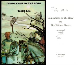 COMPANIONS ON THE ROAD and THE WINTER PLAYERS. Two Novellas. Tanith LEE