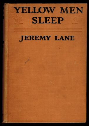 YELLOW MEN SLEEP. Jeremy LANE