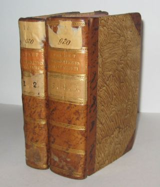 Dissertationes Excerptae ex Commentario Literali in Omnes Novi Testamenti. Five Volumes in Two....